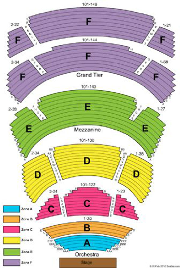 Cobb energy centre seating chart theatre atlanta