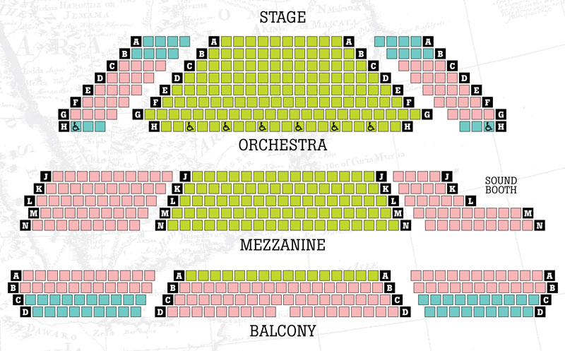 Conant Performing Arts Center Seating Chart