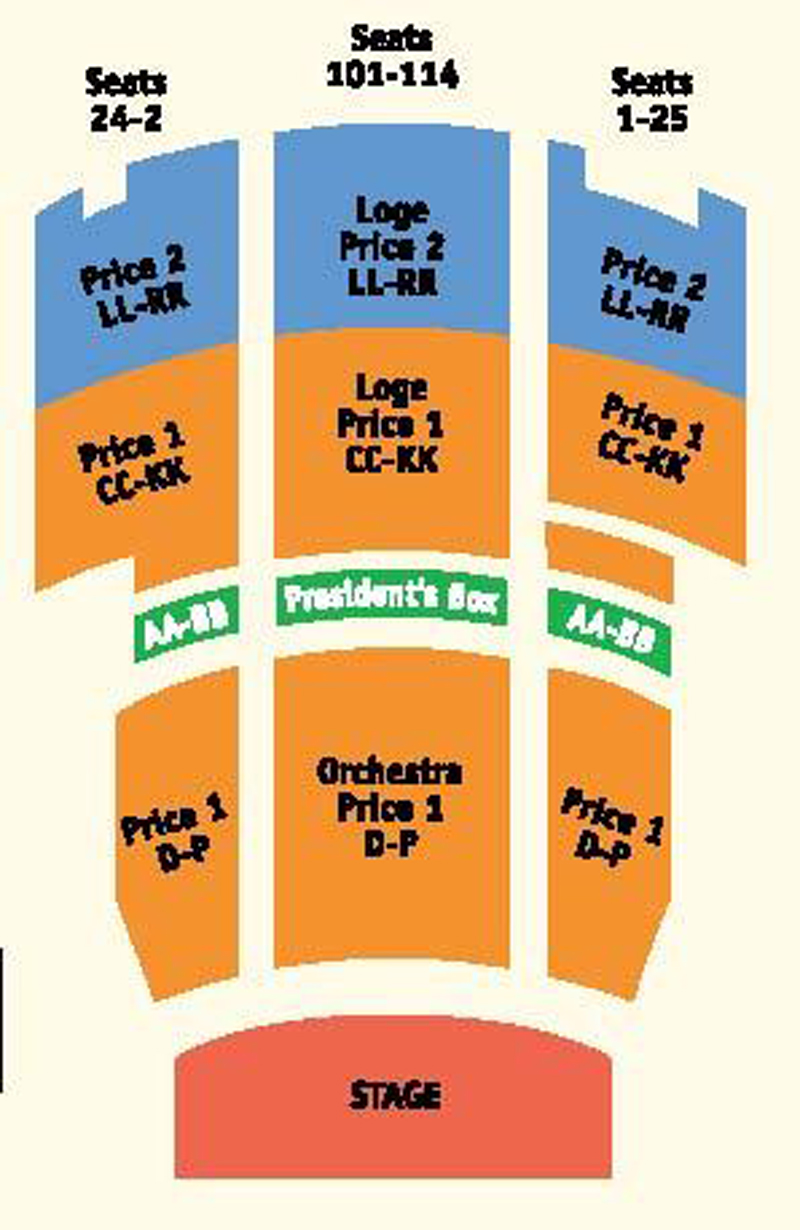 Rialto Center For The Arts Seating Chart Theatre Atlanta
